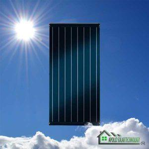SA solar Technology Flat Panel Solar Geyser Conversion
