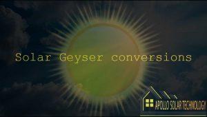 Solar Geyser Conversions Apollo Solar Technology