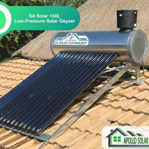 150L SA Solar Low-Pressure Solar Geyser