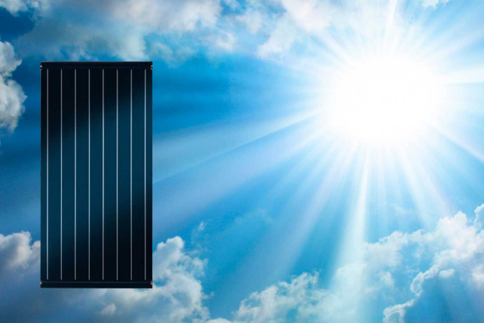 Flat Panel Solar Energy Conversion