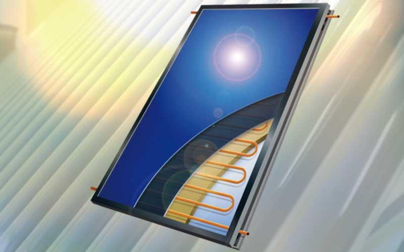 Flat Plate Solar Geyser Conversion