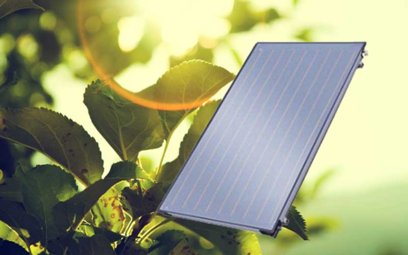 Retrofit Flat Plate Solar Collector