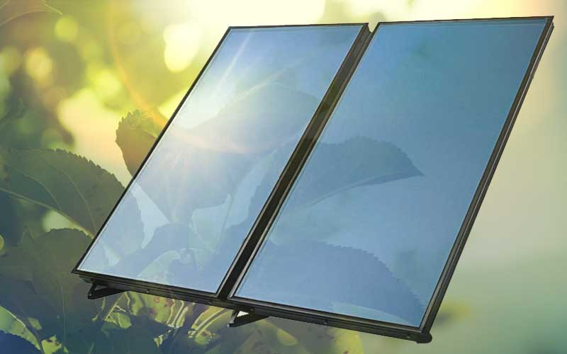 Solar Flat Plate Glass Solar Radiation