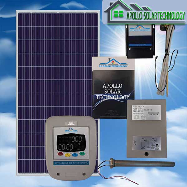 SA Solar Technology 150L PV Hot Water Solar System Kit
