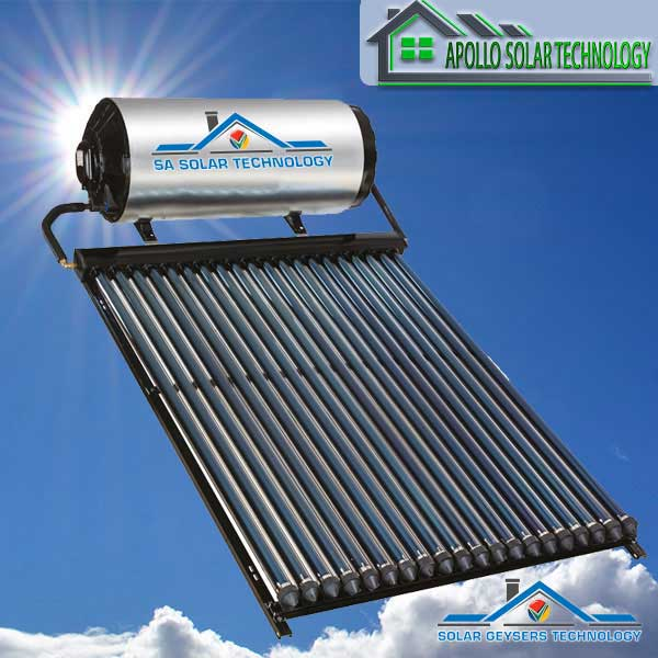 SA Solar Technology 200L High Pressure Direct solar geyser