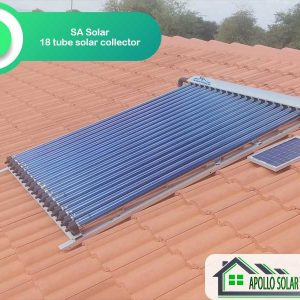 SA Solar 18 Tube Solar Collector