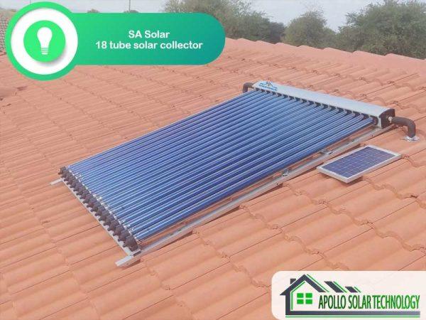 SA Solar 18 Tube Solar Collector