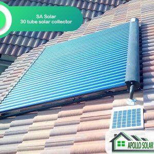 SA Solar 30 Evacuated Tube Solar Collector