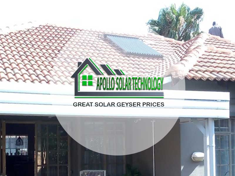 Great Solar Geyser Prices From Apollo Solar Technology