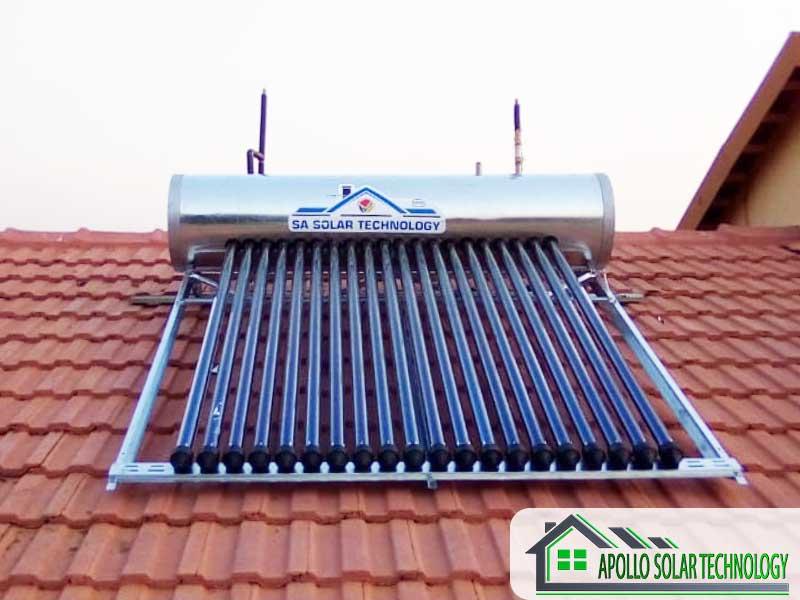 SA Solar High Pressure Solar Geyser Products