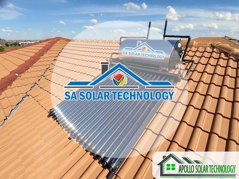 SA Solar Technology Solar Geyser Products
