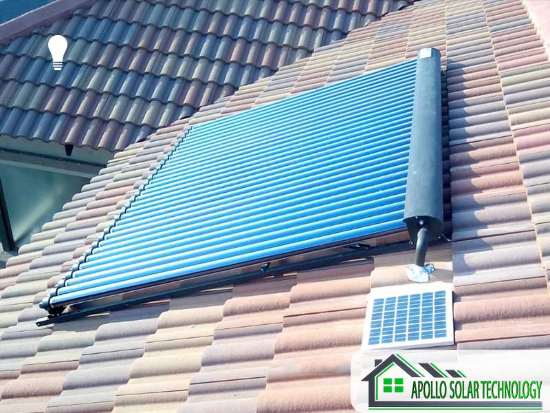 Solar Conversions Evacuated Tube Collector